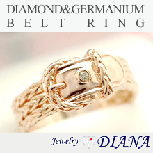 DIAMOND BELT LOVE RING<br /><font size=