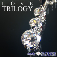 LOVE TRILOGY NECKLACE<br><font size=